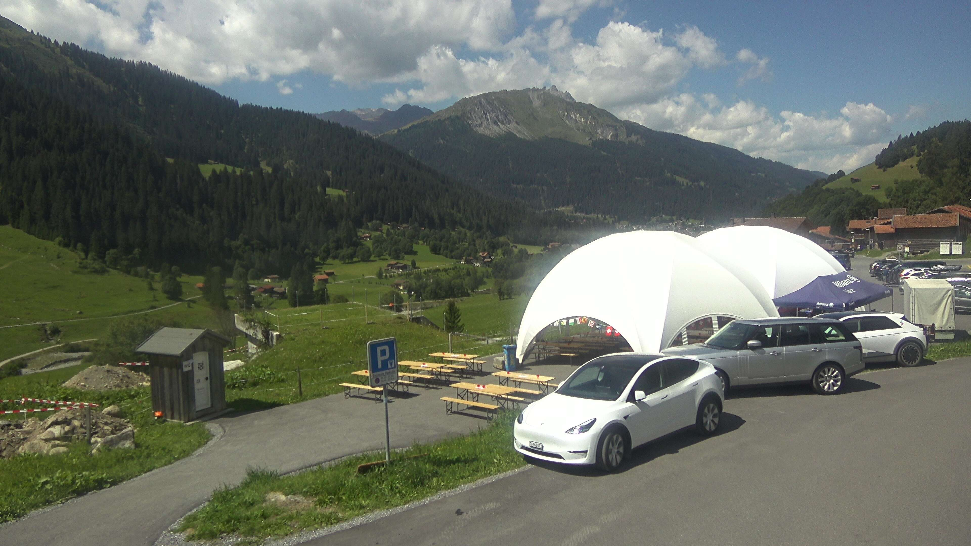 Klosters Monbiel Parking