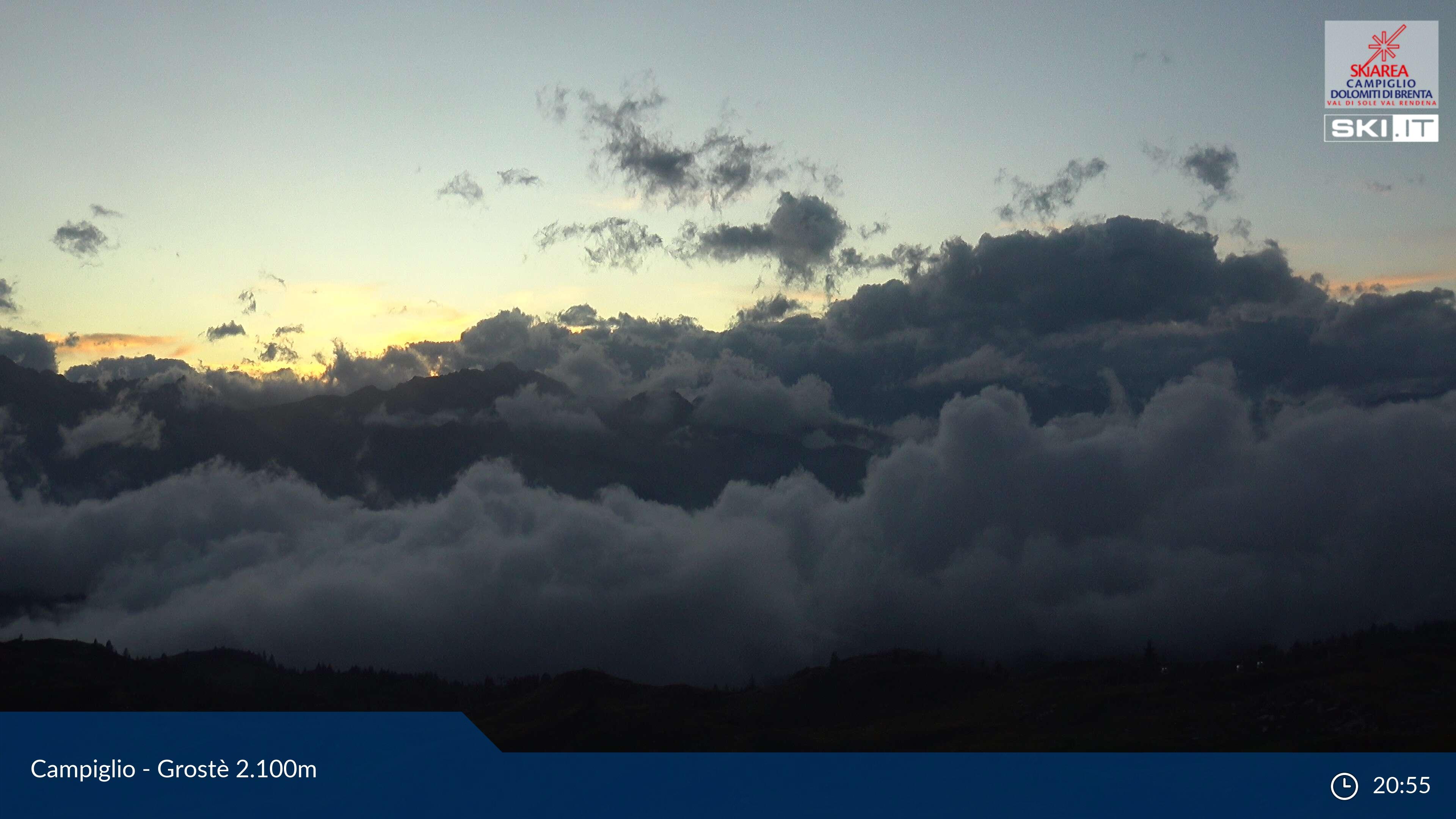 Webcam Panorama Pradalago da Grostè - Madonna di Campiglio