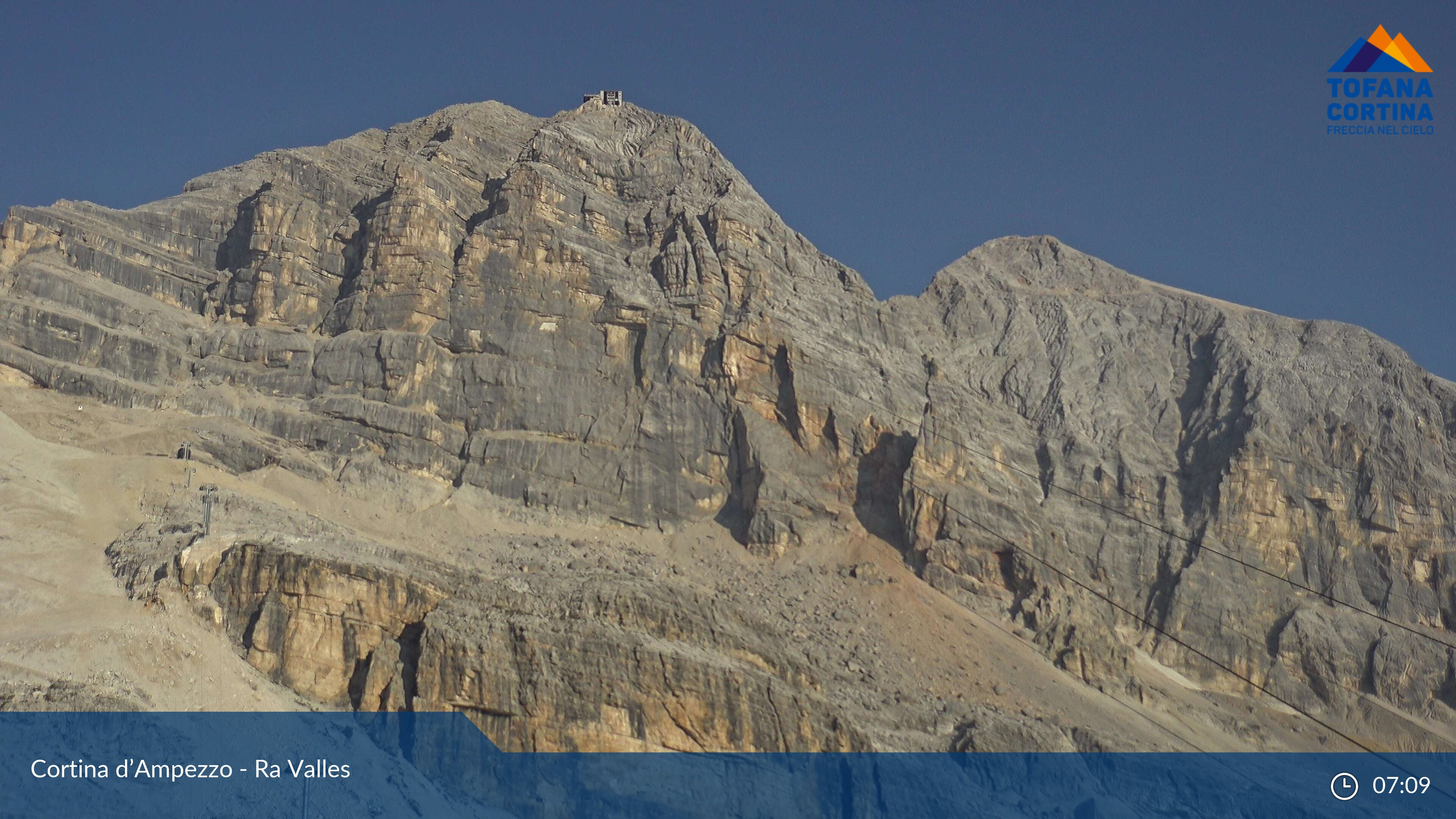 Cortina d'Ampezzo dal Monte Faloria