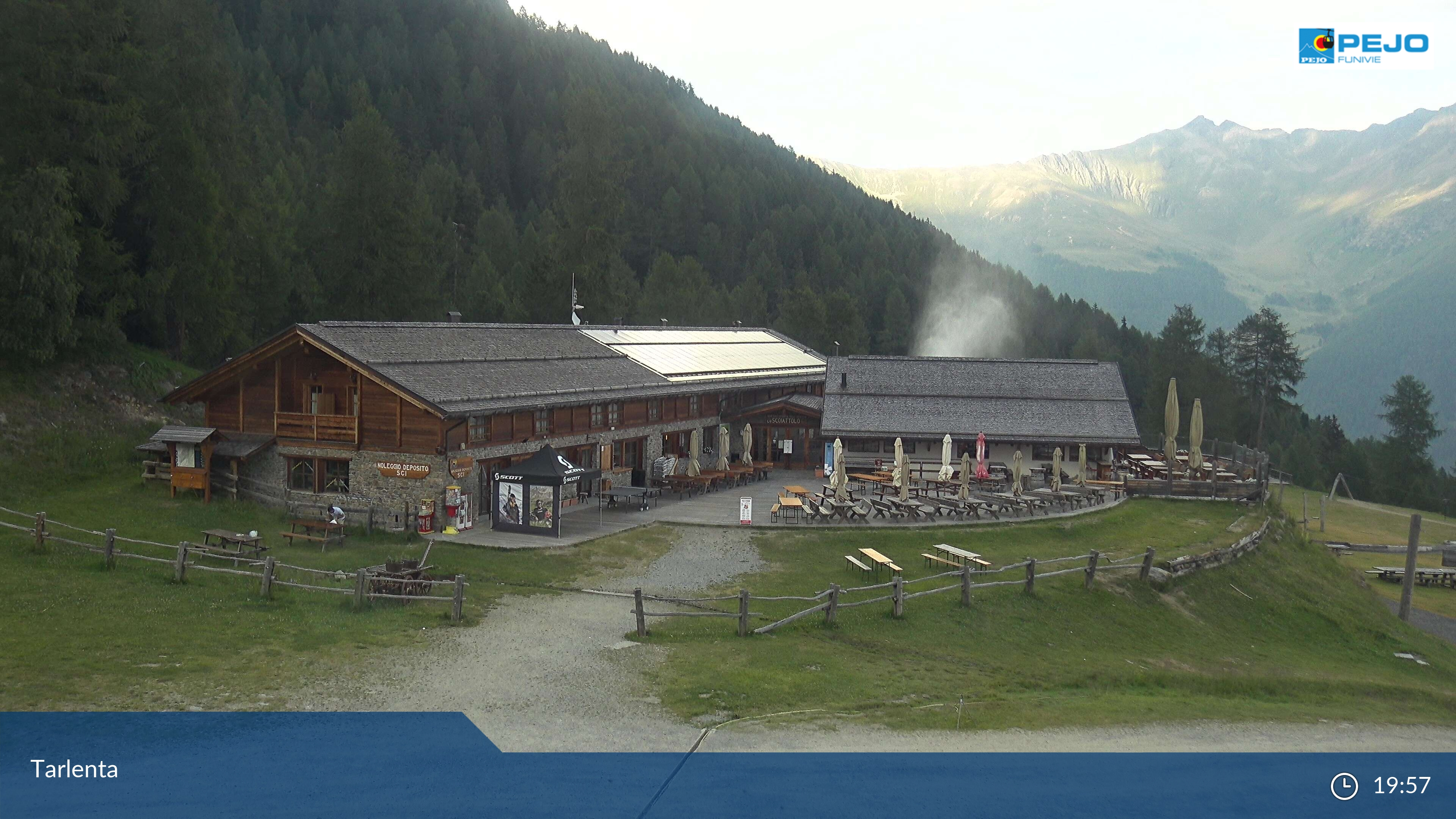 Webcam Rifugio Scoiattolo - Pejo