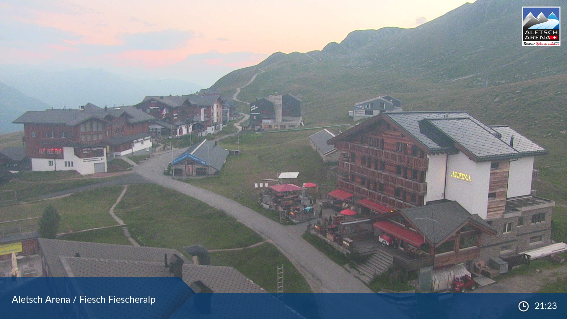 Webcam <br><span> aletsch arena</span>