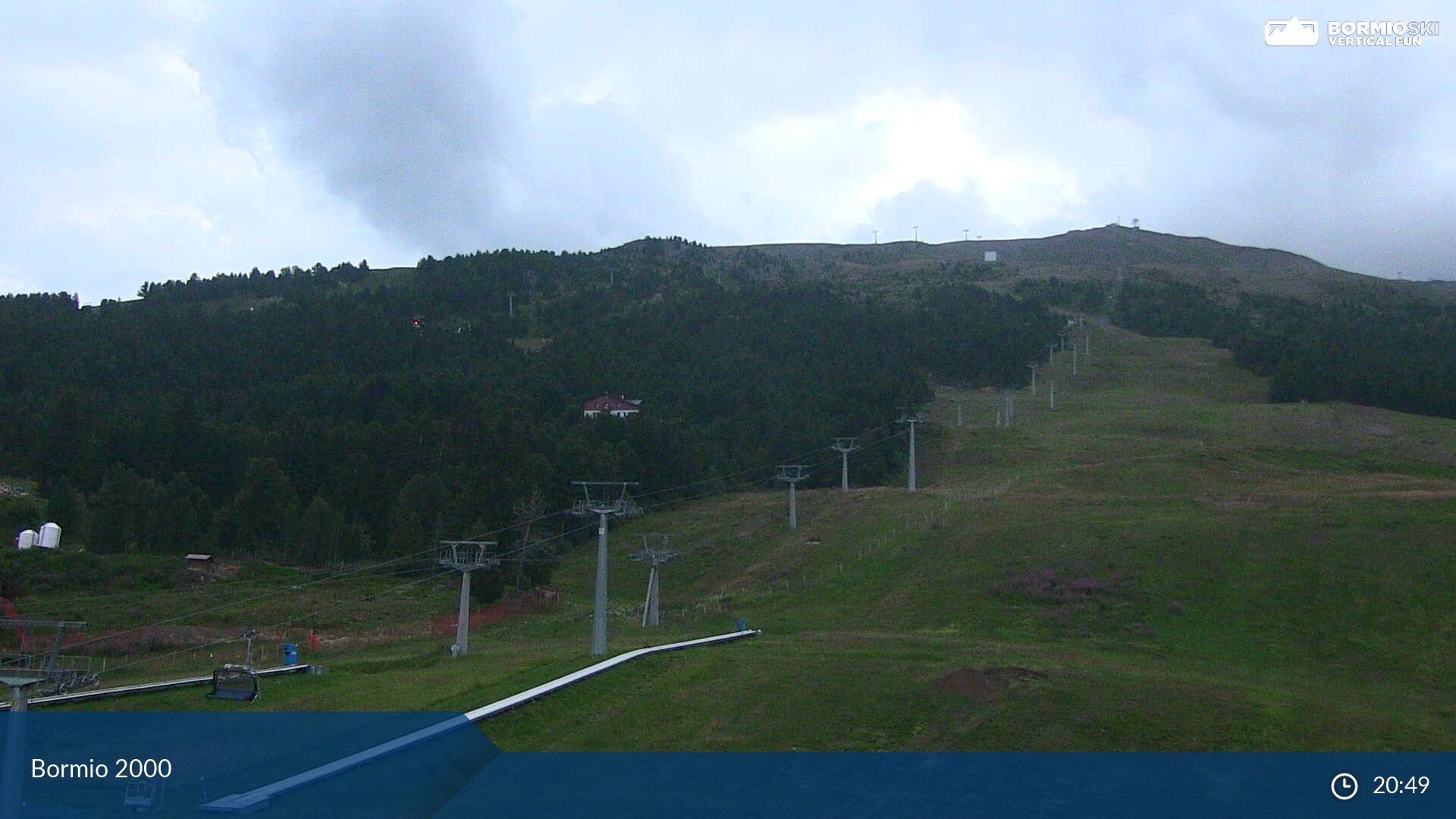 Webcam pista Stella Alpina - Bormio 2000, Alta Valtellina