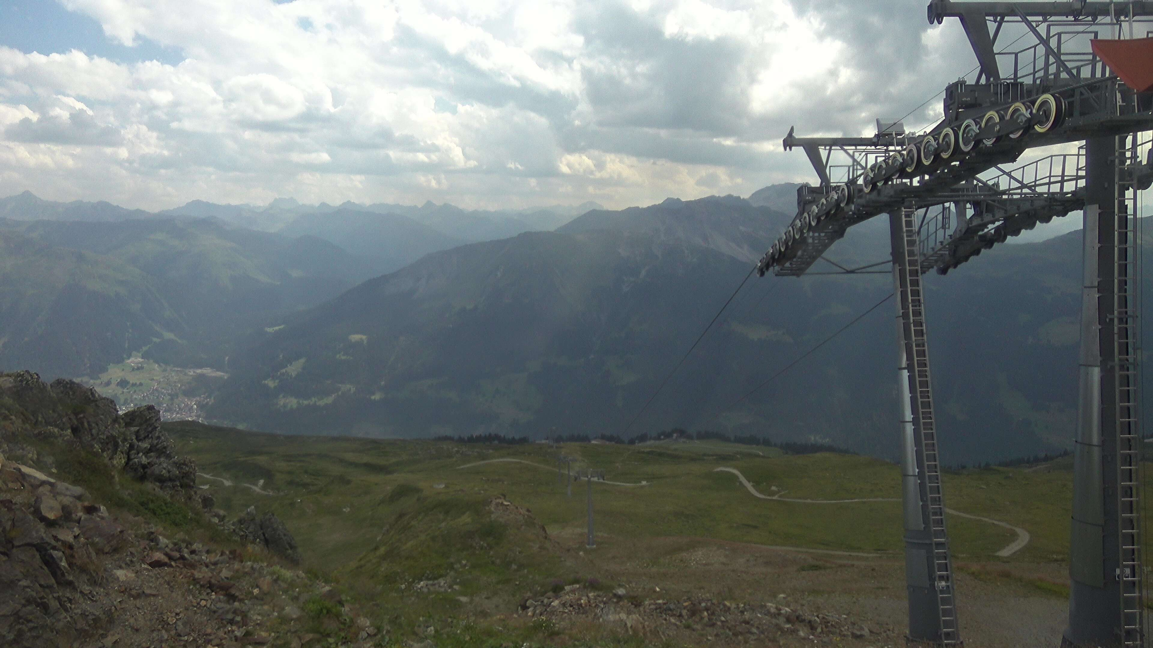 Madrisa, Blick Klosters
