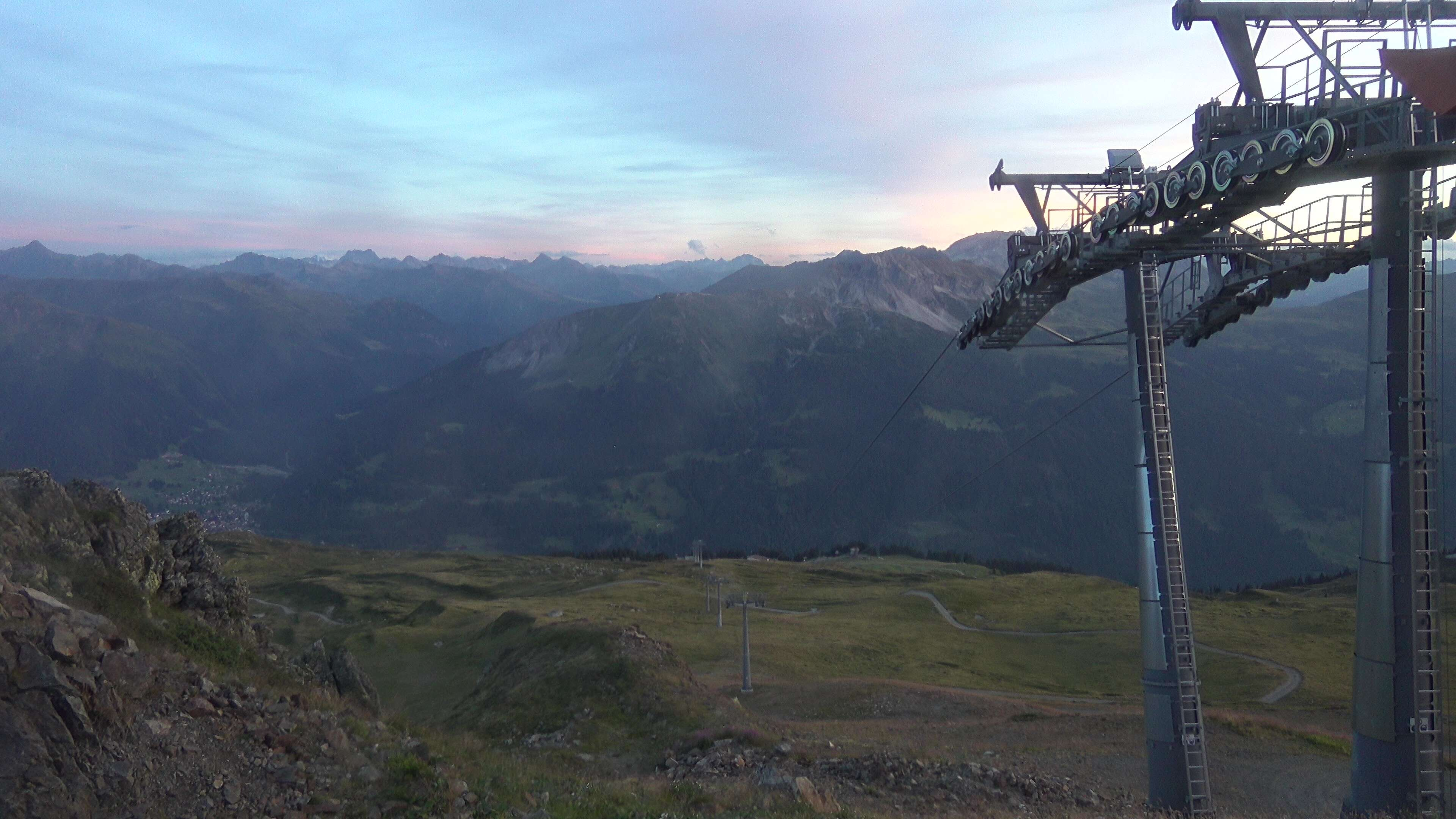 Madrisa, view Klosters