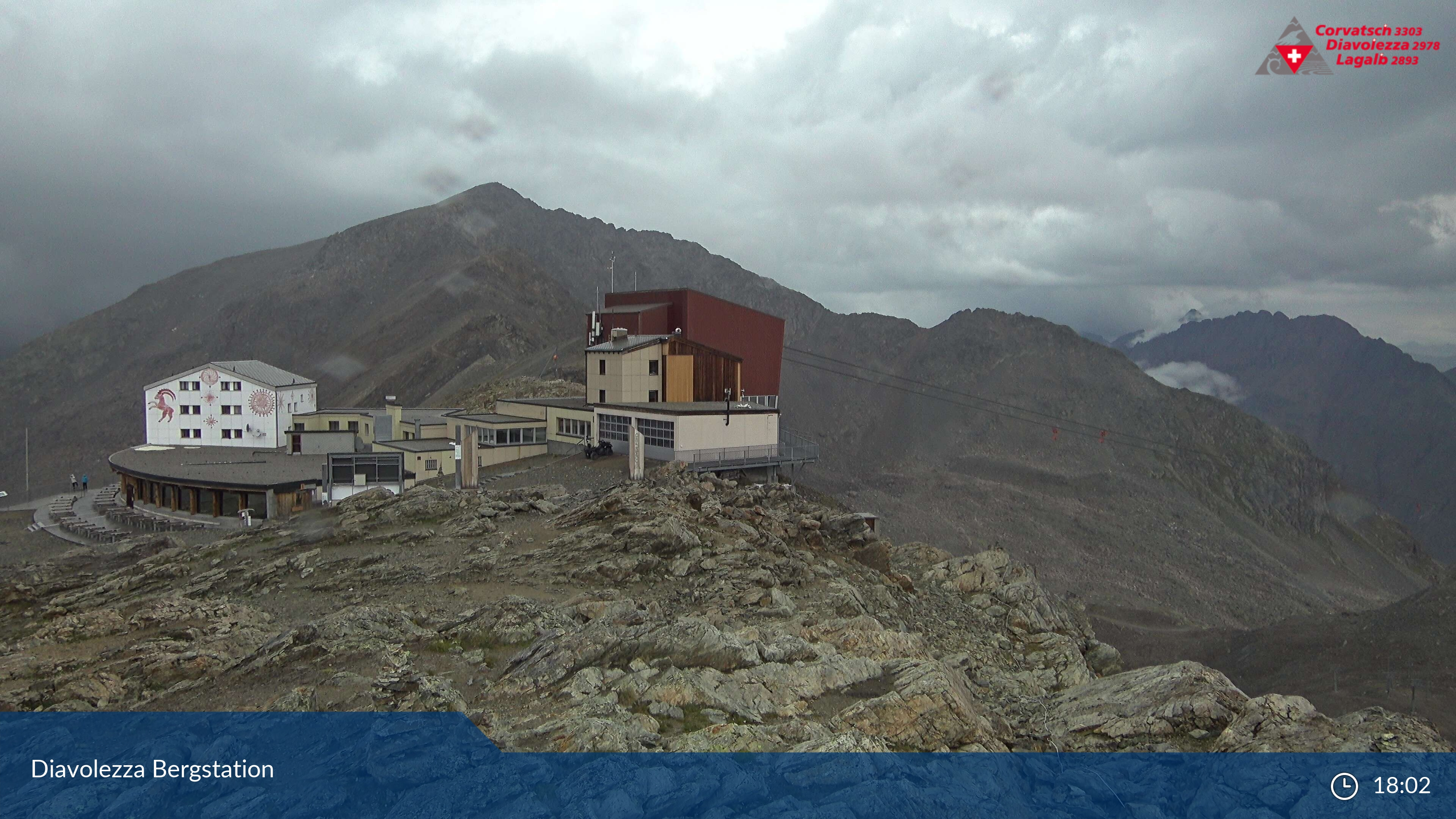 Webcam Diavolezza - Bernina