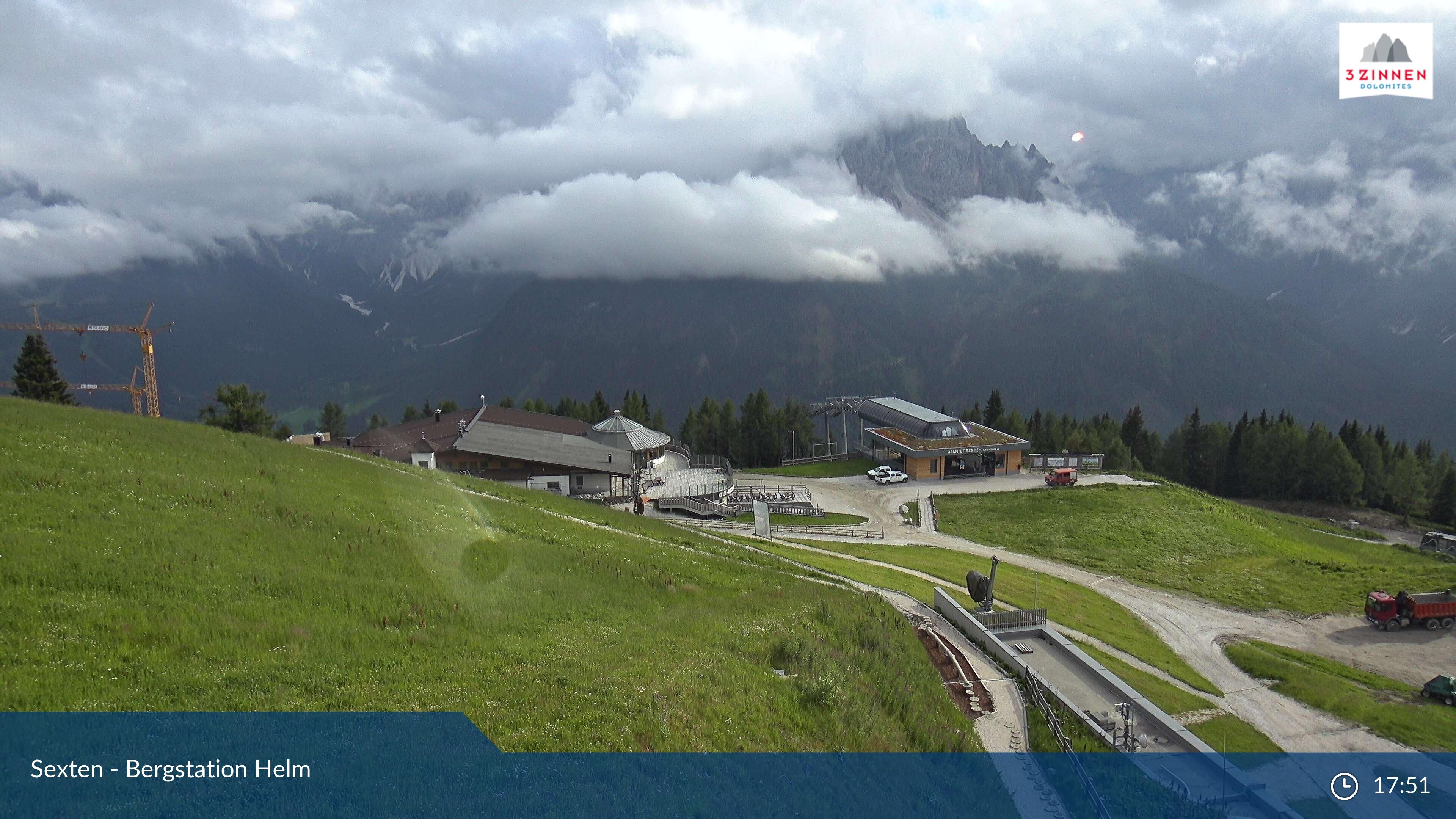 3 Zinnen Sesto webcam - Monte Elmo ski station