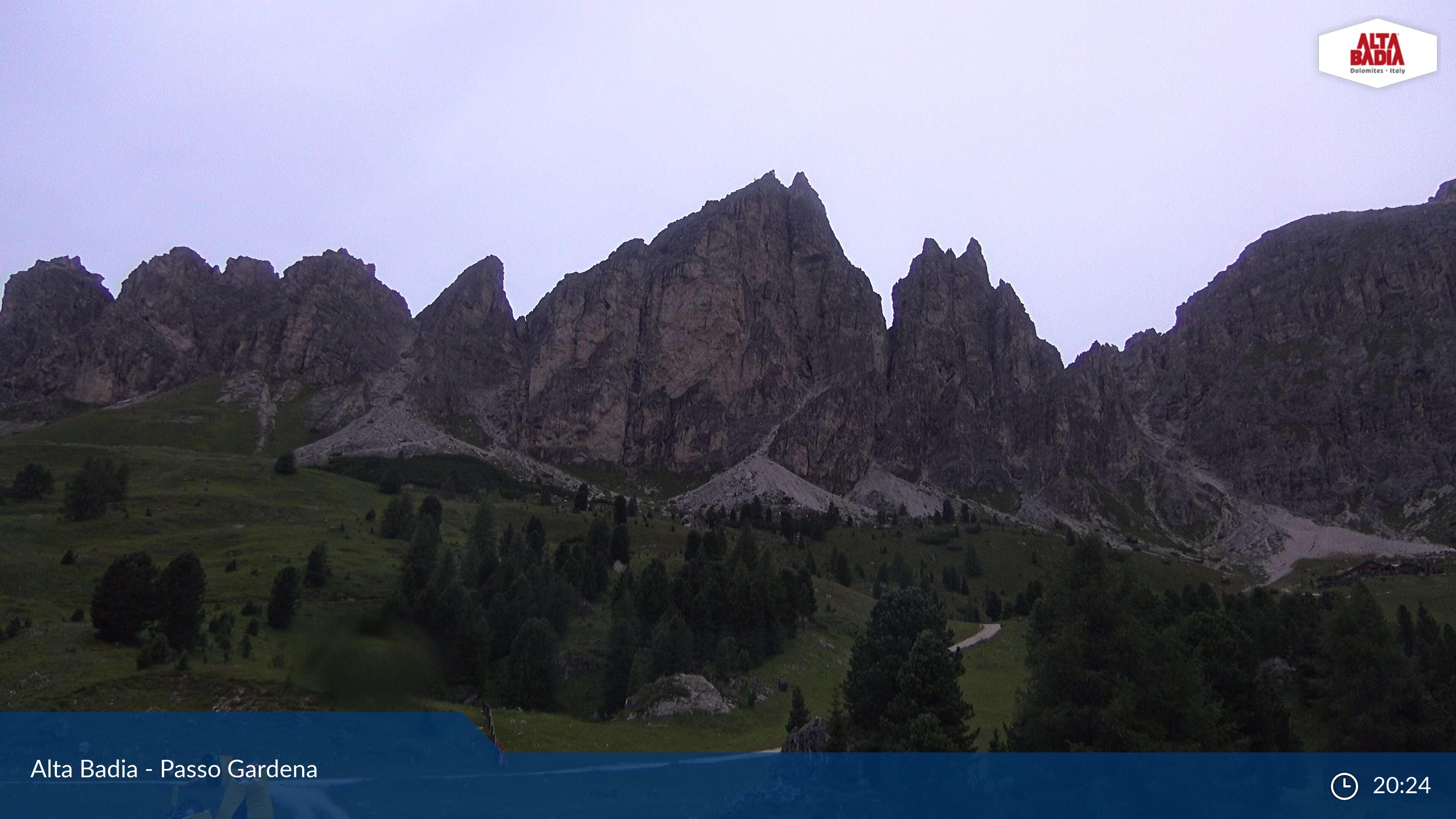 webcam passo Gardena
