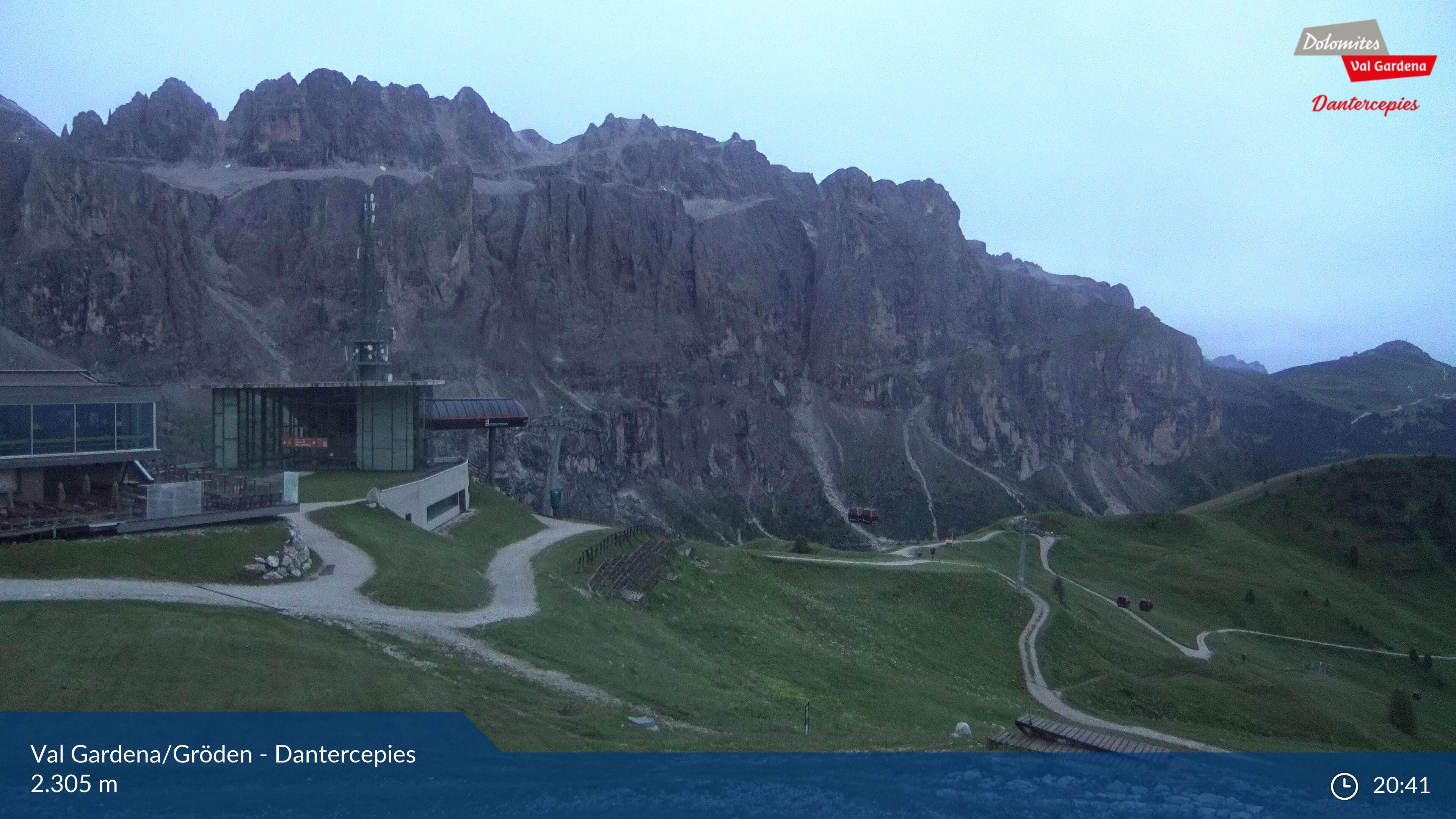 Selva Val Gardena webcam - Dantercepies ski station