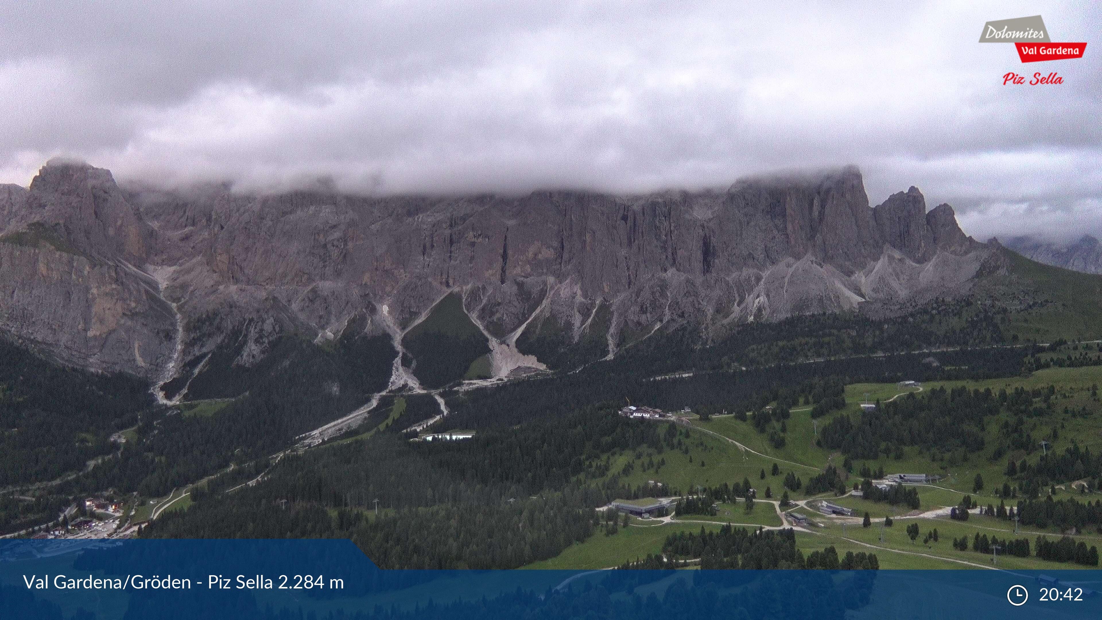 Webcam Plan de Gralba - Selva Gardena, Val Gardena - Dolomiti Superski