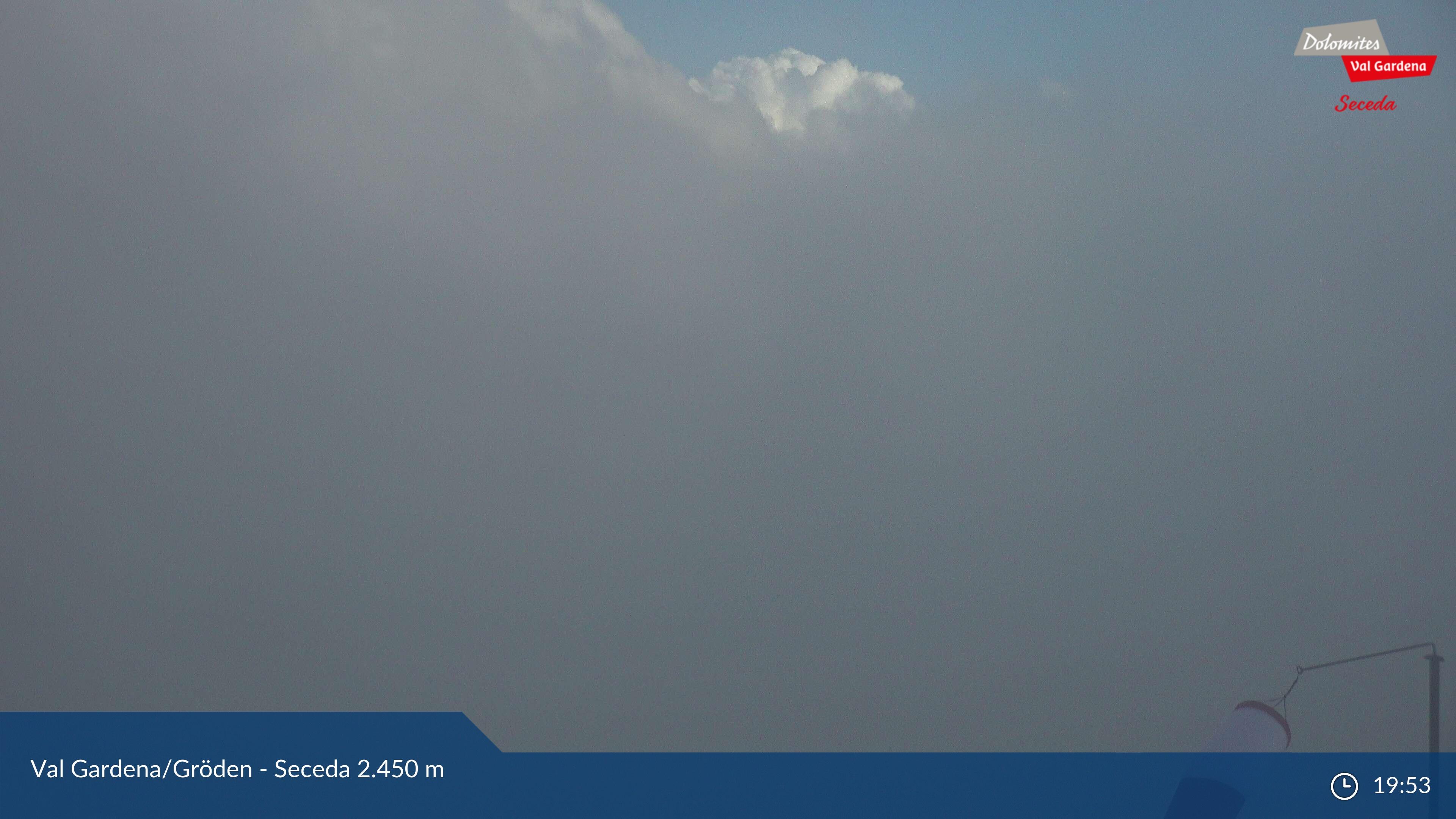 Webcam Sassolungo e Sassopiatto dal Seceda - Ortisei - Val Gardena,