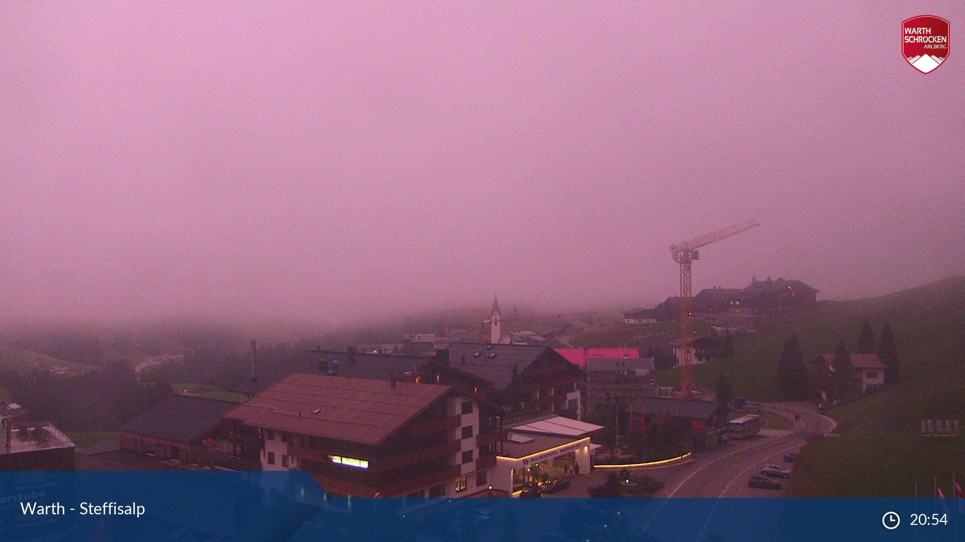 Live Webcam Wartherhorn Steffisalp