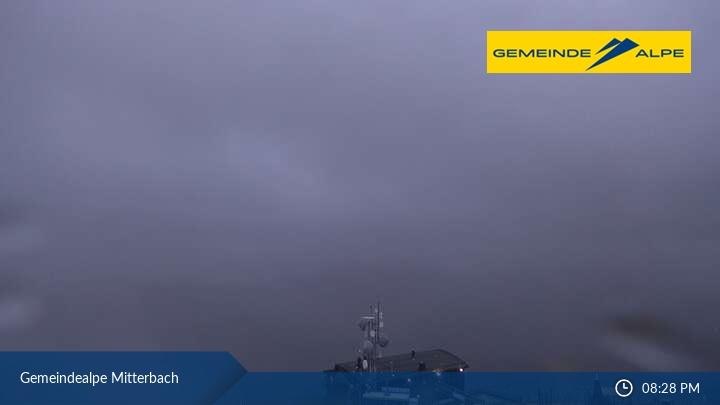 Gemeindealpe Mitterbach Blick nach Mariazell