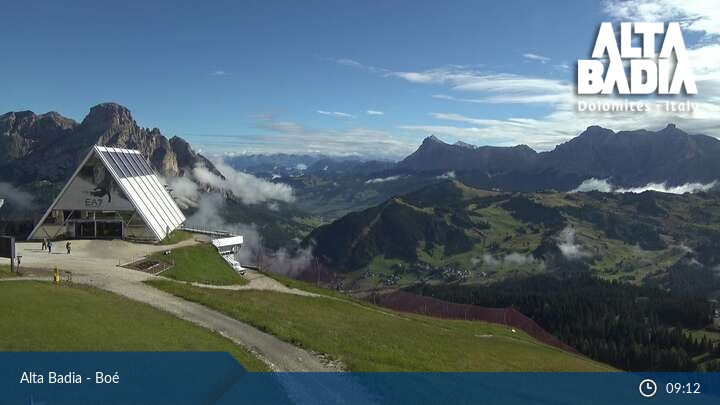 Webcam Alta Badia - Boé