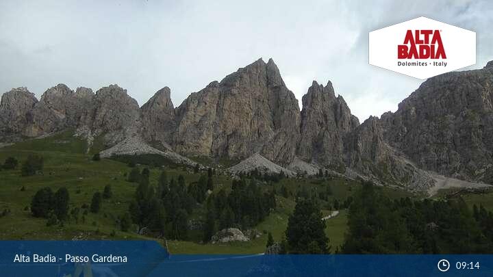 Webcam Passo Gardena Alta Badia