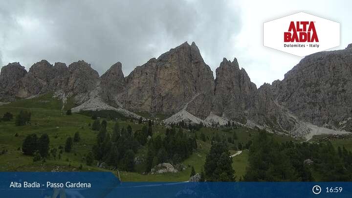 Webcam <br><span>Alta Badia, Passo Gardena</span>