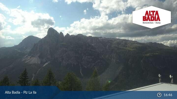 Webcam Piz La Ila/Alta Badia