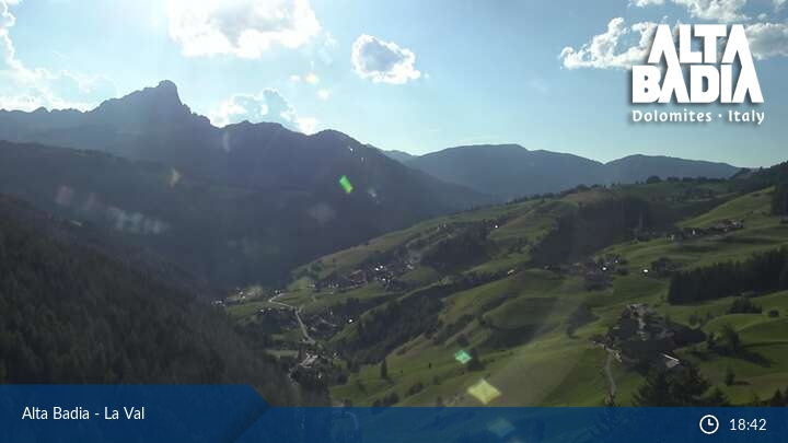 Webcam <br><span>Alta Badia - La Val</span>