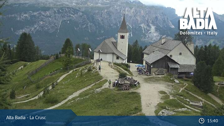 Webcam <br><span>Webcam Alta Badia La Crusc</span>