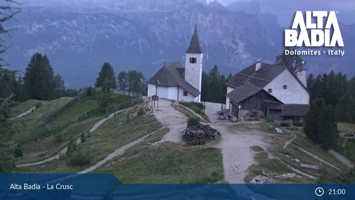 Webcam Alta Badia La Crusc