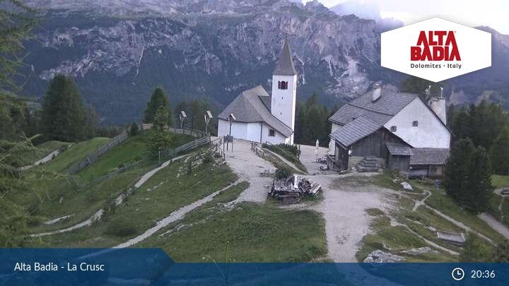 Webcam <br><span>Alta Badia - Badia/Santa Croce</span>